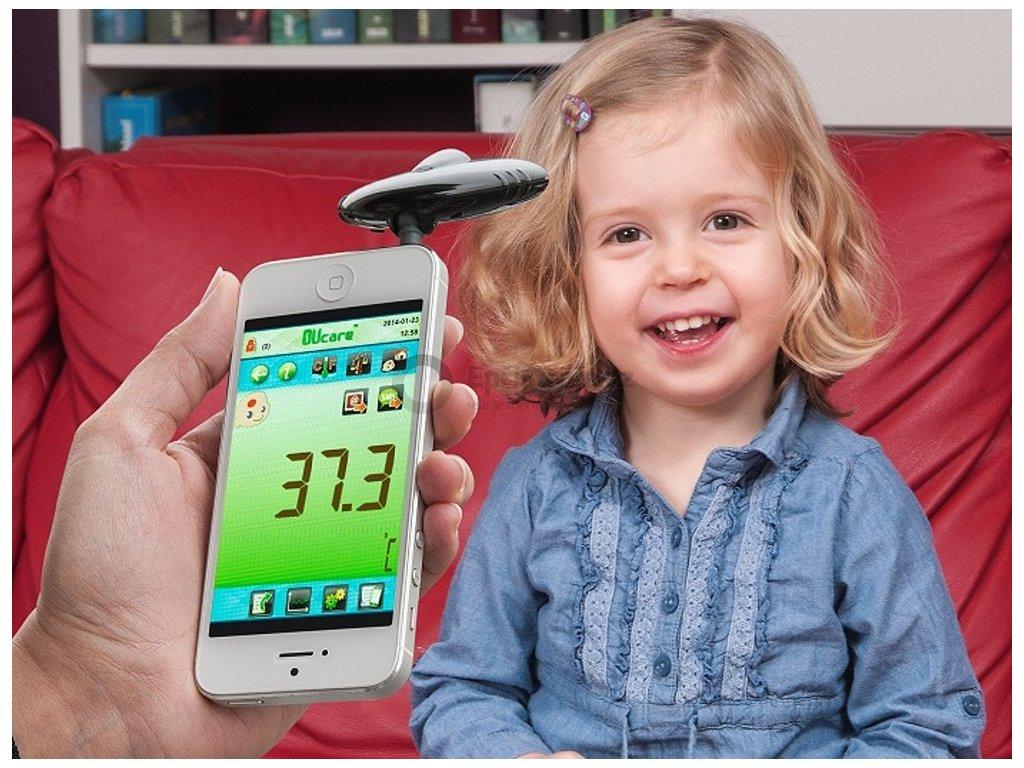 Infračervený teploměr TFA 31.1133.01 pro chytré telefony