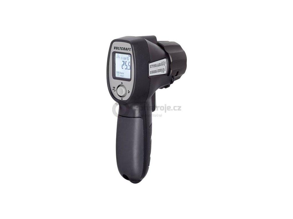 Infračervený teploměr VOLTCRAFT IRU 500-12 s UV lampou a kapesní LED lampou, optika 12:1
