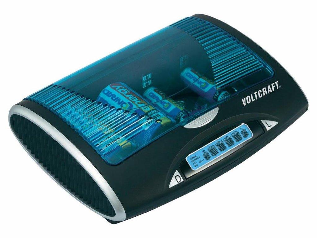 Inteligentní nabíječka a diagnostická stanice Voltcraft P600-LCD