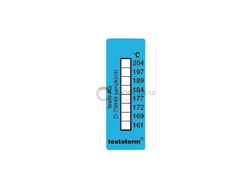 Nevratný teplotní indikátor +161 až +204 C - nalepovací