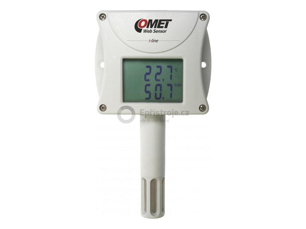 Web Sensor T3510 - snímač teploty a vlhkosti s výstupem Ethernet