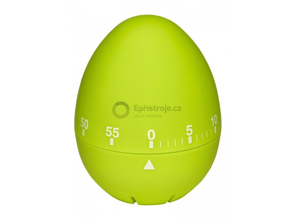 Kuchyňská minutka - vajíčko TFA 38.1032.04; zelená