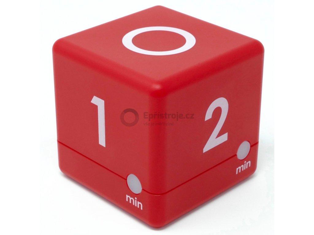 Timer - časovač TFA 38.2039.05 - červená (1 - 2 - 3 - 5 minut)