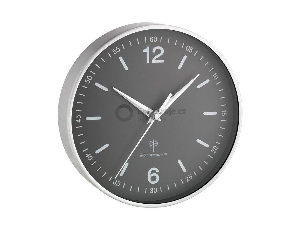 Nástěnné DCF hodiny TFA 60.3503.10, Ø 195 mm