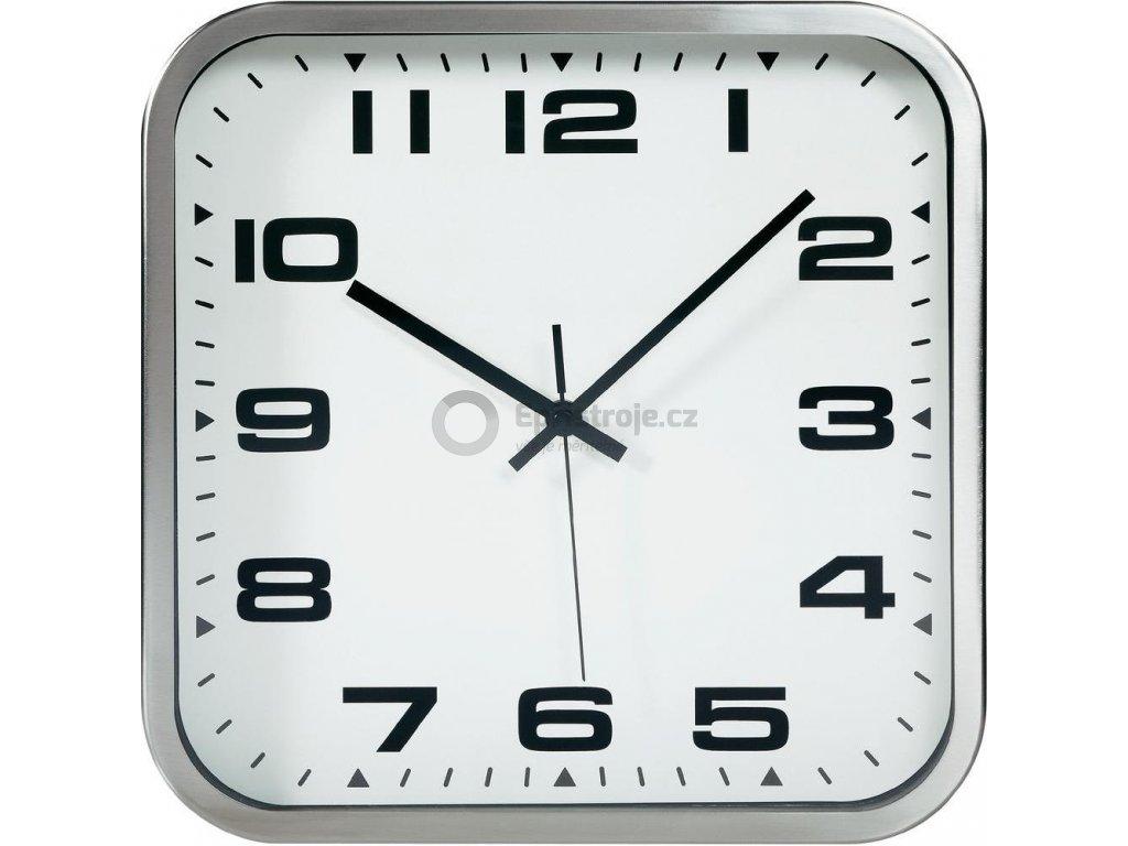 Čtvercové nástěnné hodiny TFA 60.3013 - 300 x 300 mm