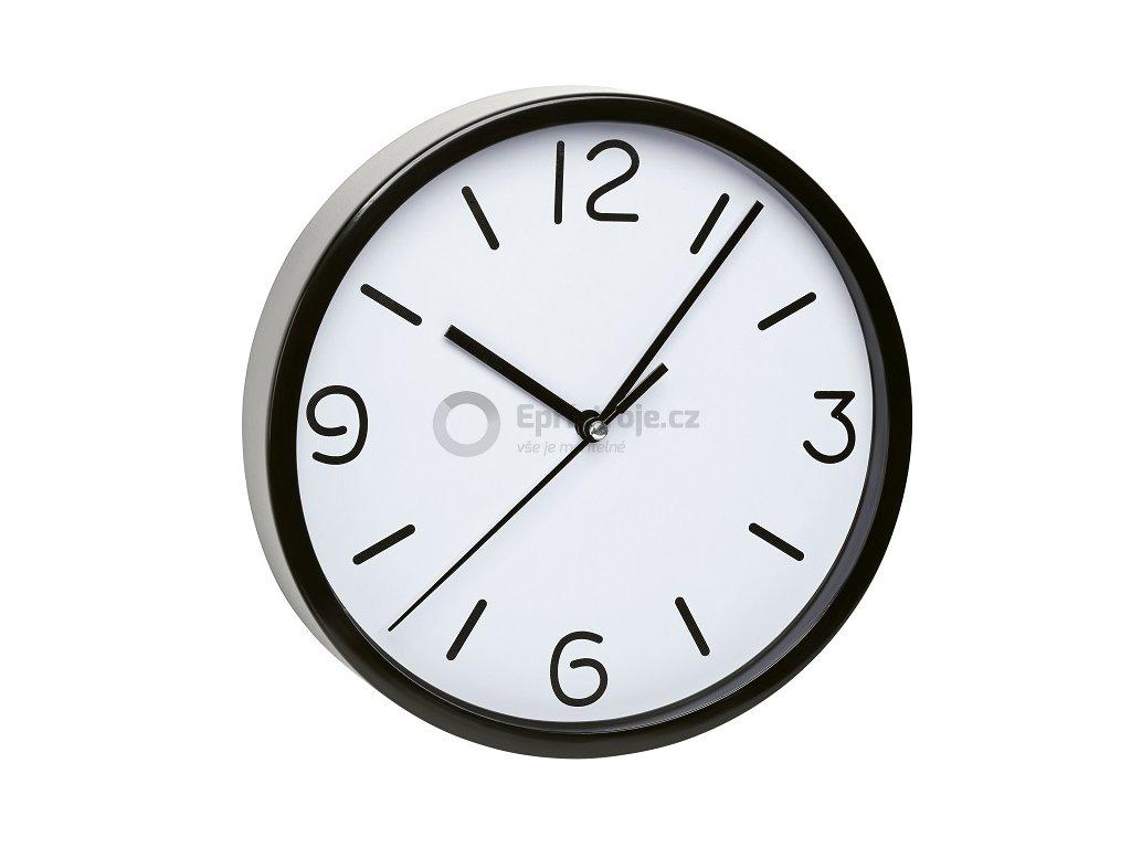 Nástěnné hodiny černé TFA 60.3033.01