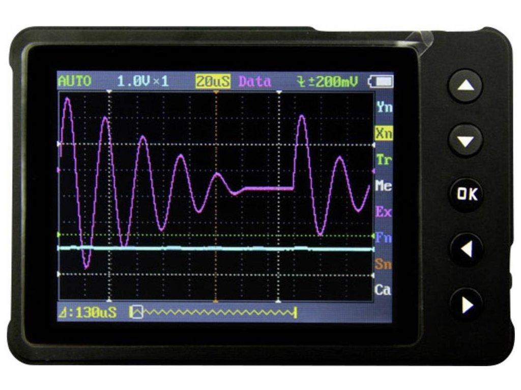 Ruční osciloskop Seeed Studio NANO V3, 200 kHz, 1kanálový