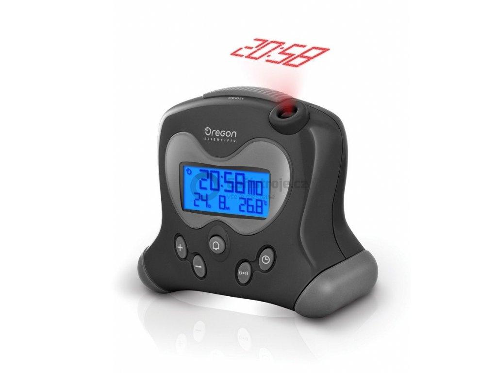 Digitální budík s projekcí času RM313PBK