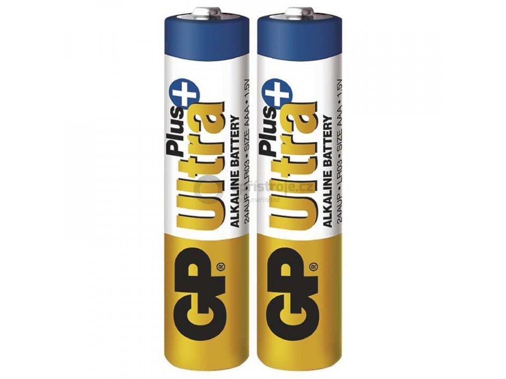 Mikrotužková alkalická baterie AAA - GP Ultra Plus Alkaline | B17112 | 2 kusy