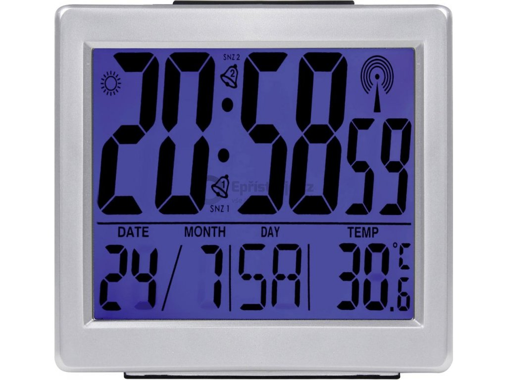 Stolní DCF hodiny Eurochron EFW 750