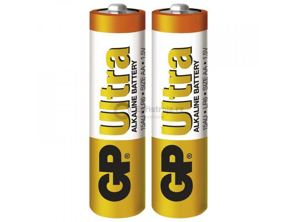 Tužkové baterie AA - GP Ultra Alkaline | B1920 | 2 kusy
