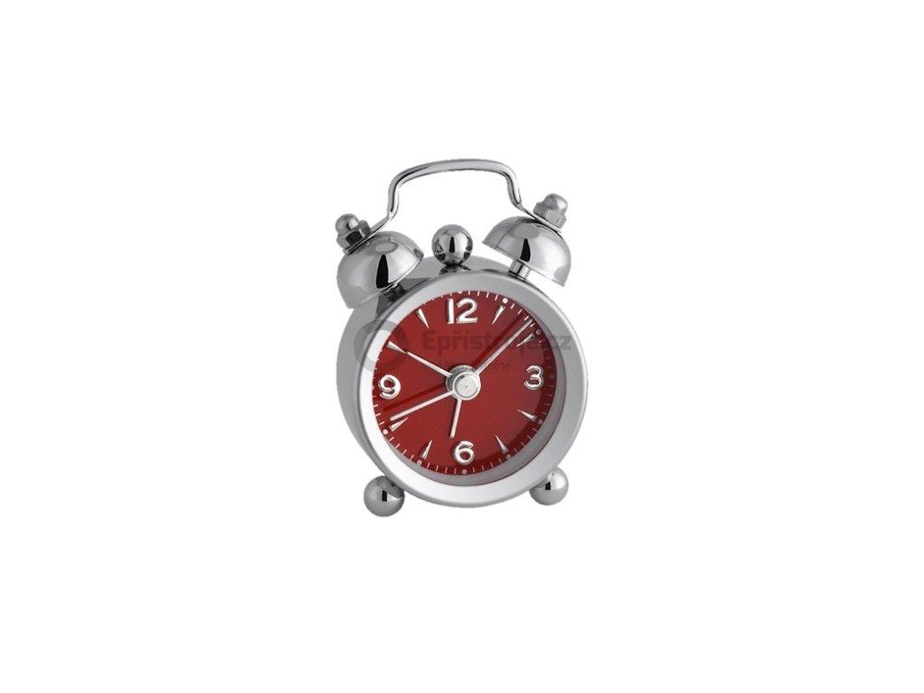 Analogový budík MINI-NOSTALGIA TFA 60.1000.05 červený