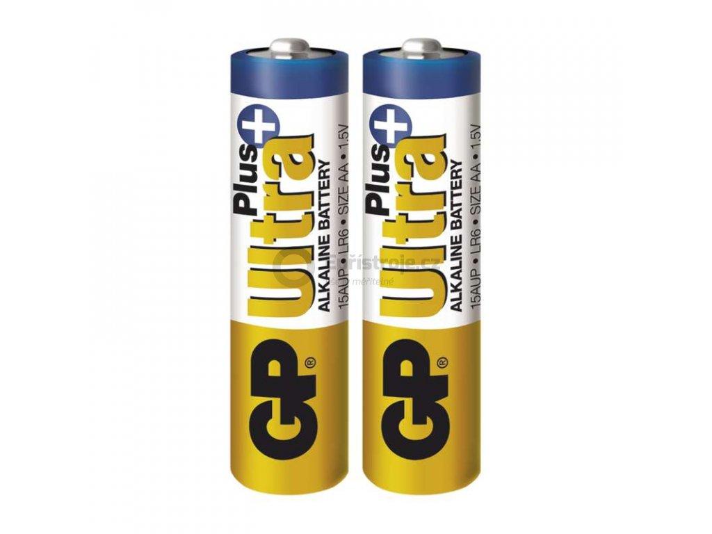 Tužková alkalická baterie AA - GP Ultra Plus Alkaline | B17212 | 2 kusy
