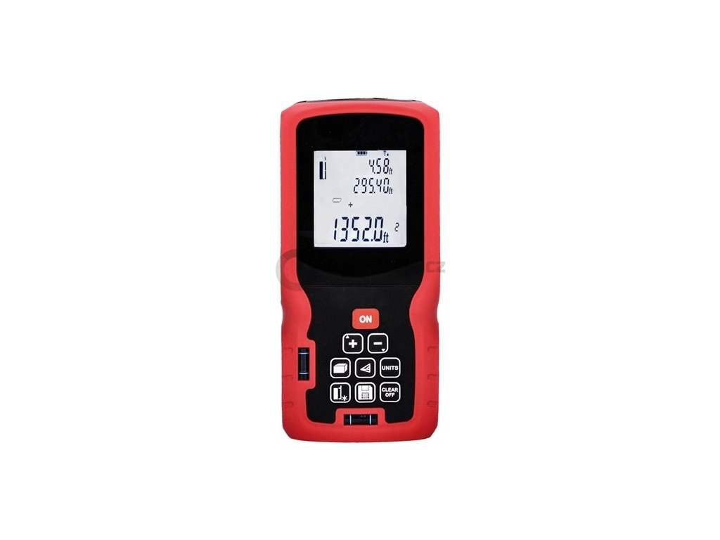 Solight laserový měřič vzdálenosti DM80 | 0,05 až 80 m | dálkoměr