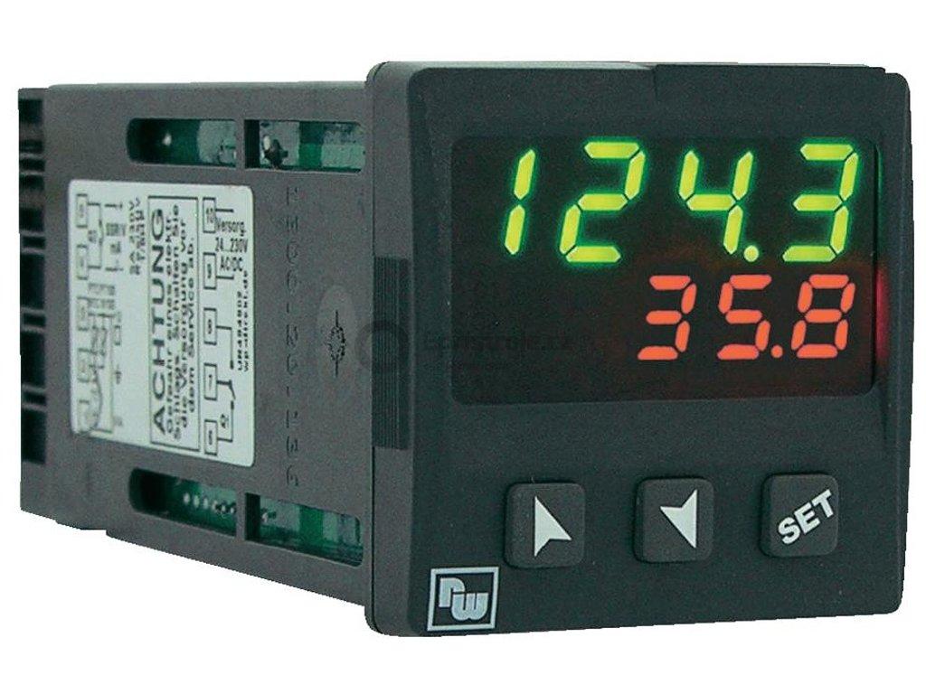 Univerzální PID regulátor Wachendorff UR484804, 24-230V AC/DC