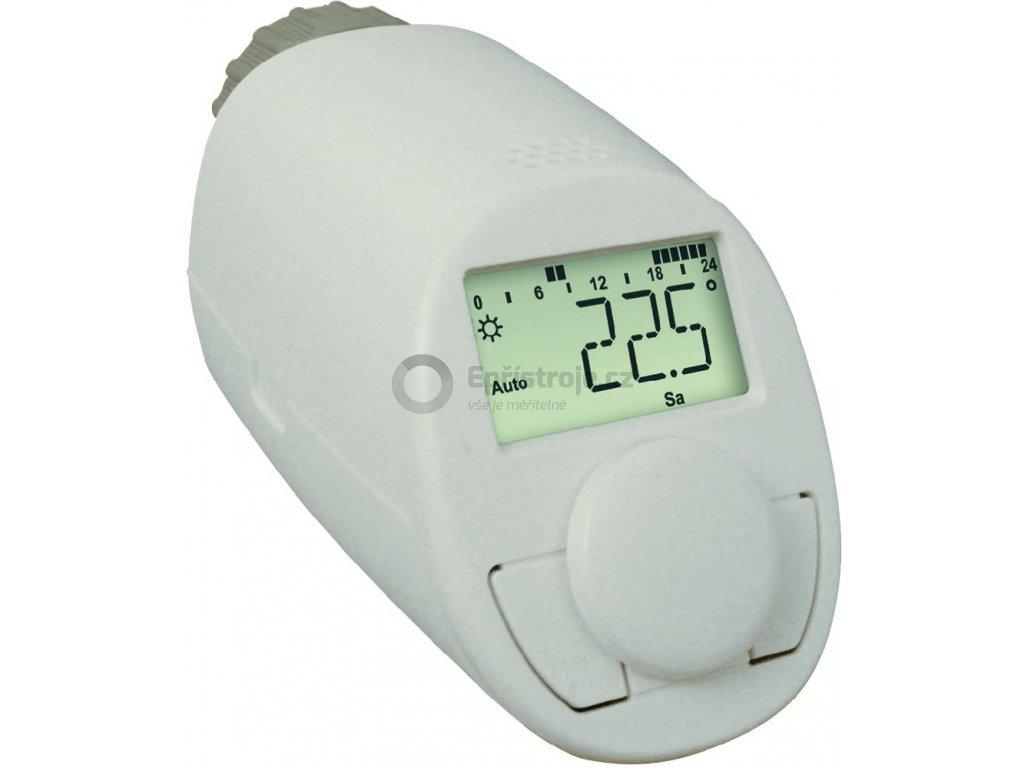Programovatelná termostatická hlavice eqiva N | 5 až 29,5 °C