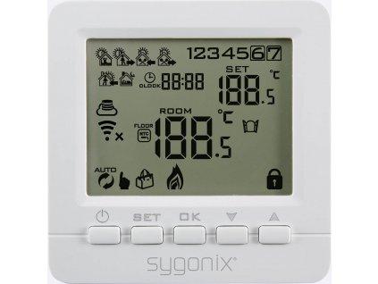 WiFi termostat Sygonix SY-4500820 | týdenní program | 5 až 35 °C | pod omítku