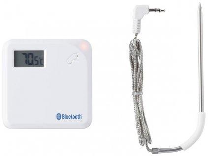 Bluetooth teploměr s vpichovacím teplotním čidlem -40 až +300 °C | dosah až 30 m