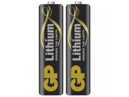Lithiová baterie GP AA (FR6) | 1,5 V | tužková baterie | 2 kusy | B15212
