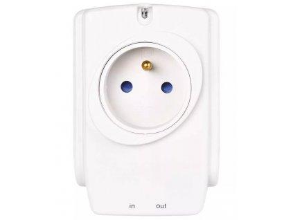 Přepěťová ochrana EMOS P53893 | absorbce energie 918 J, mezizásuvka, bílá