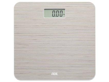 Digitální osobní váha ADE BE 1505 CHLOE   až 150 kg / 50 g   bambusová