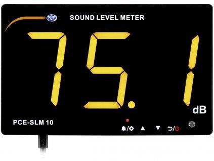 Nástěnný hlukoměr PCE Instruments PCE-SLM 10   datalogger   velký displej