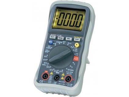 Digitální automobilový multimetr AT-200 | indukční měření otáček