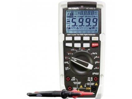 Digitální multimetr VOLTCRAFT VC-460 E ochrana proti tryskající vodě (IP65)