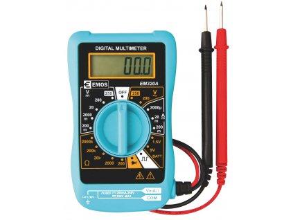 Miniaturní digitální multimetr EM320A