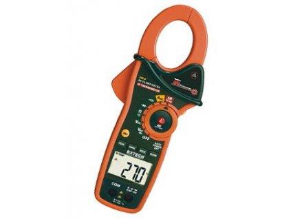 Digitální klešťový ampérmetr + infra teploměr EX810