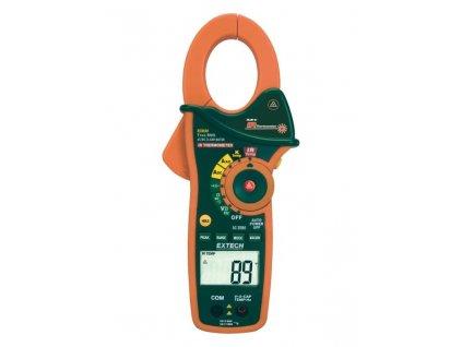 Digitální klešťový ampérmetr + infra teploměr EX830
