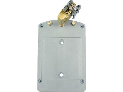 Držák na stěnu se zámkem pro loggery COMET - F9000