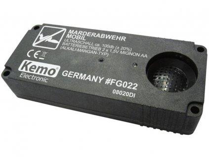 Přenosný odpuzovač kun Kemo FG022, na baterie