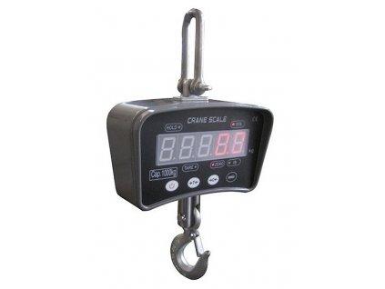 Digitální závěsná váha DigiScale 1000; jeřábová váha do 1000 kg; dělení 500 g