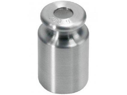 KERN 347-08, Kalibrační závaží 200 g, M1, jemně soustružená nerez ocel