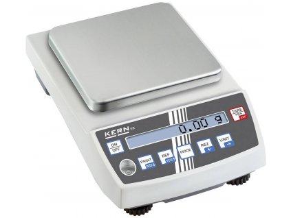 Přesná stolní digitální váha Kern KB 2400-2N, váživost 2400 g, dělení 0,01 g