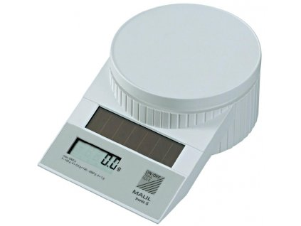 Solární poštovní váha MAULtronic S-200Solární poštovní váha MAULtronic S-2000 - bílá
