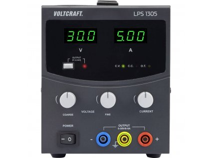 Laboratorní napájecí zdroj Voltcraft LPS1305, 0 - 30 V/DC, 5 A, 150 W