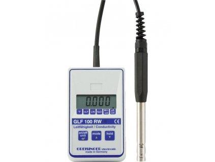 Digitální konduktometr pro demineralizované vody GLF100RW