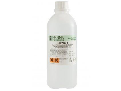 HI7074L | Čistící a dezinfekční roztok na pH a ORP elektrody na anorganické usazeniny | 500 ml