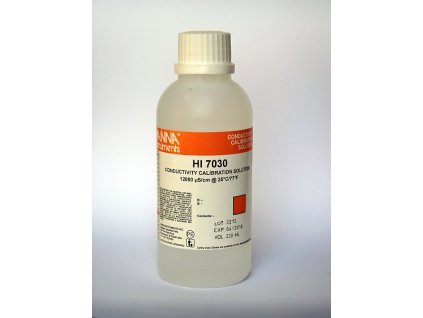 Kontrolní roztok měrné vodivosti 12880 µS cm - 500 ml (HI 7030L)