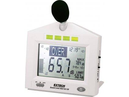 Digitální hlukoměr s velkým displejem + ALARM | EXTECH SL-130