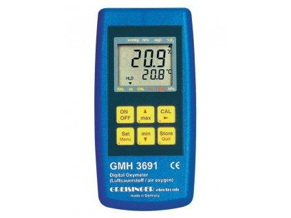 OXYmetr Greisinger GMH3692 pro měření kyslíku ve vzduchu