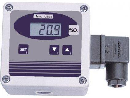 OXY 3690 MP Převodník koncentrace kyslíku ve vzduchu včetně elektrody GGO370/MU