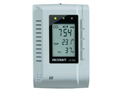 Měřič koncentrace CO2, teploty a vlhkosti, Voltcraft CO-100