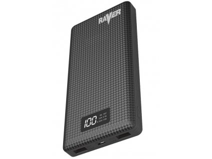 Power bank RAVER 20000mAh černý | B0513