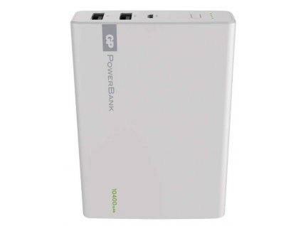 Power bank GP 1C10A 10400mAh bílý