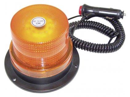Maják do autozásuvky, 20200, s magnetem, oranžová
