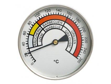 Teploměr do udírny do 260°C, prům. 60 m, stonek 100 mm