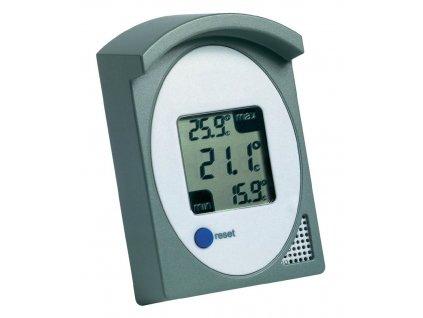 Digitální teploměr pro záznam MIN. MAX. teplot, TFA 30.1017.10